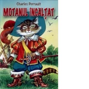 desene motanul incaltat online poster