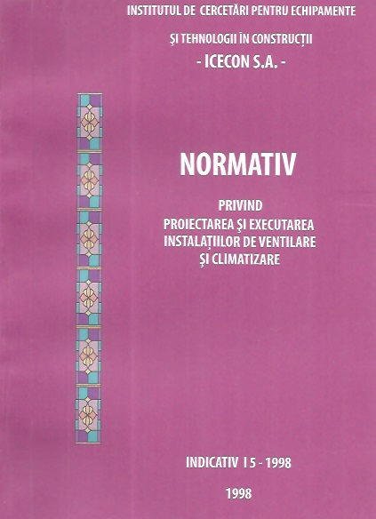 Normativ privind proiectarea executarea instalatiilor