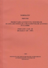 Normativ privind proiectarea executia masurilor