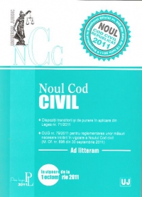 Noul Cod Civil republicat Monitorul