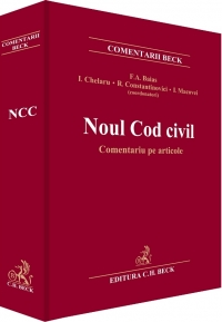 Noul Cod civil Comentariu articole