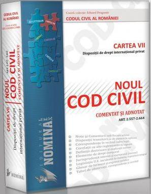 NOUL COD CIVIL COMENTAT ADNOTAT