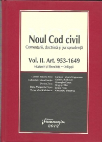 Noul cod civil Comentarii doctrina