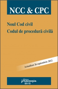 Noul Cod civil Codul procedura