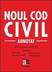 Noul Cod Civil Adnotat Editia