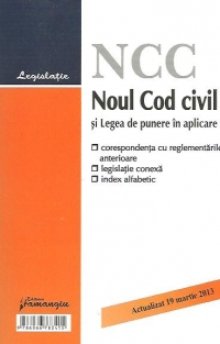 Noul Cod civil Legea punere