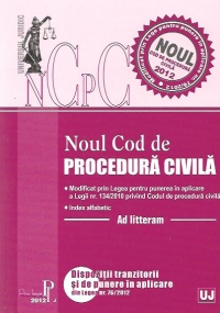 Noul Cod procedura civila 2012