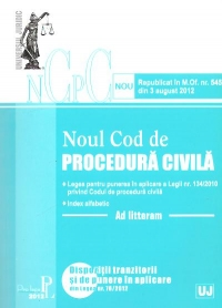 Noul cod procedura civila litteram