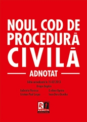 Noul Cod procedura civila Adnotat