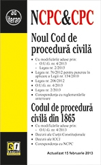 Noul Cod procedura civila (actualizat