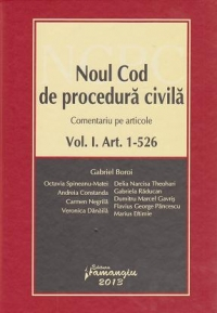 Noul cod procedura civila Comentariu