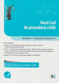 Noul cod procedura civila Add