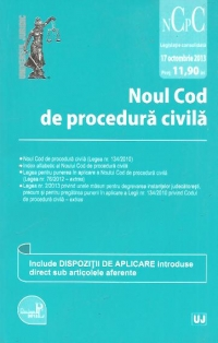 Noul Cod procedura civila actualizat
