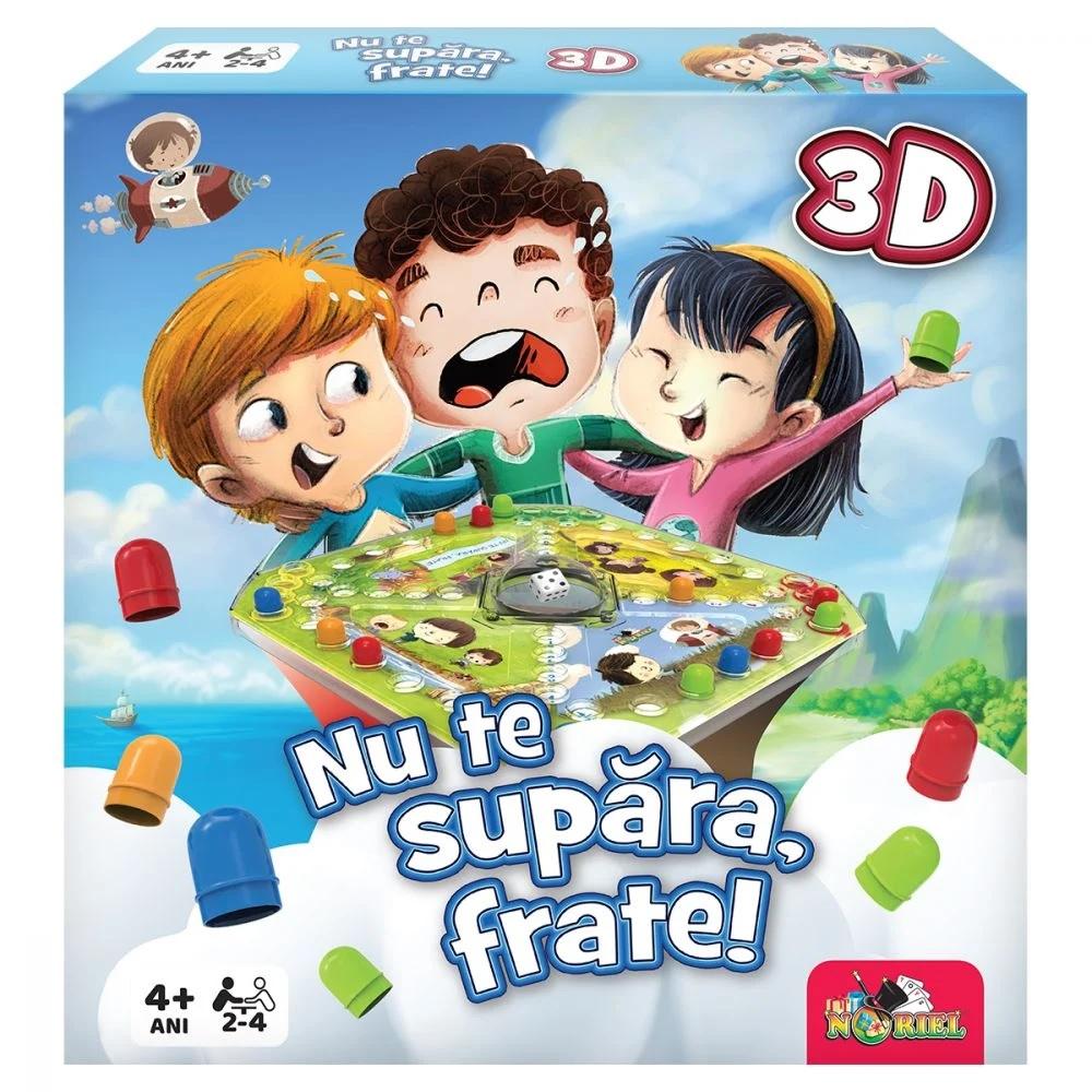 NU TE SUPARA FRATE 3D - joc pentru intreaga familie (3+)