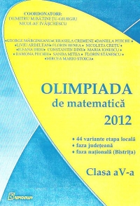 Olimpiada matematica 2012 Clasa