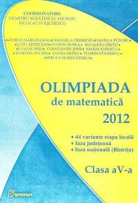 Olimpiada de matematica 2012, Clasa a V-a