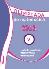Olimpiada de Matematica 2013. Clasa a V-a