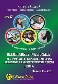 Olimpiadele nationale ale Romaniei si Republicii Moldova - Clasele V-VIII