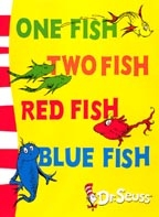 ONE FISH TWO FISH RED