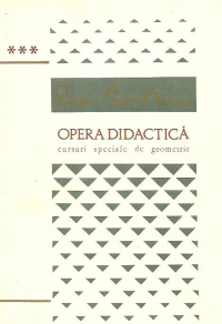 Opera Didactica Volumul III lea