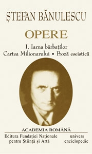 OPERE STEFAN BANULESCU VOL I-II