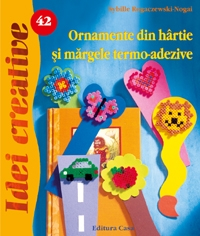 Ornamente din hartie margele termo