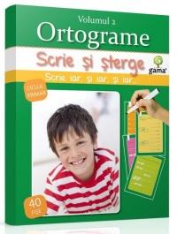 Scrie sterge Ortograme Volumul (ciclul