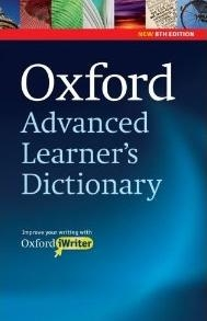 Oxford Advanced Learner Dictionary (with
