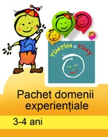 PACHET DOMENII EXPERIENTIALE TIMTIM TIMY
