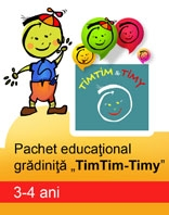PACHET EDUCATIONAL GRADINITA TIMTIM TIMY