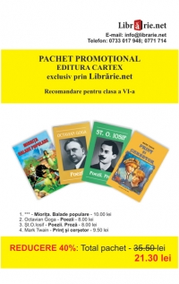 Pachet promotional Editura Cartex clasa