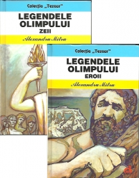 Pachet promotional Legendele Olimpului volume: