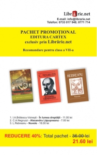 Pachet promotional Editura Cartex pentru