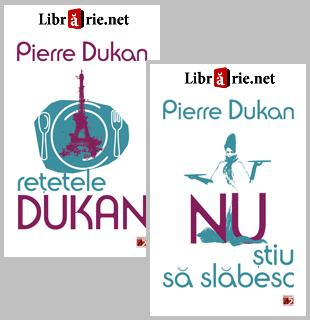 Pachet promotional Pierre Dukan carti: