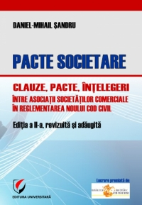Pacte societare Clauze pacte intelegeri