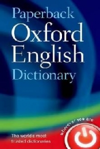 Paperback Oxford English Dictionary 7th