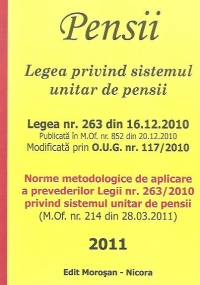 Pensii - Legea privind sistemul unitar de pensii