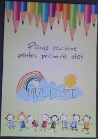 Planse educative pentru prichindei isteti - Multimi (20 file)