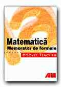 POCKET TEACHER MATEMATICA MEMORATOR FORMULE