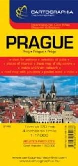 Prague Cartographia City Map 6148