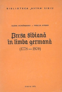 Presa germana in limba germana (1778-1970)