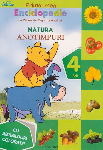 Prima mea enciclopedie cu Winnie de Plus si prietenii lui. Anotimpuri (4 ani) - Cu abtibilduri colorate