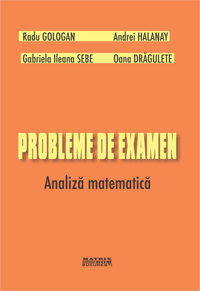 Probleme examen Analiza matematica