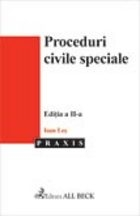 Proceduri civile speciale