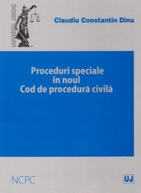 Proceduri speciale noul Cod procedura