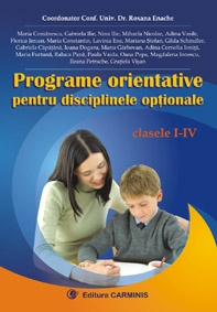 Programe orientative pentru disciplinele optionale