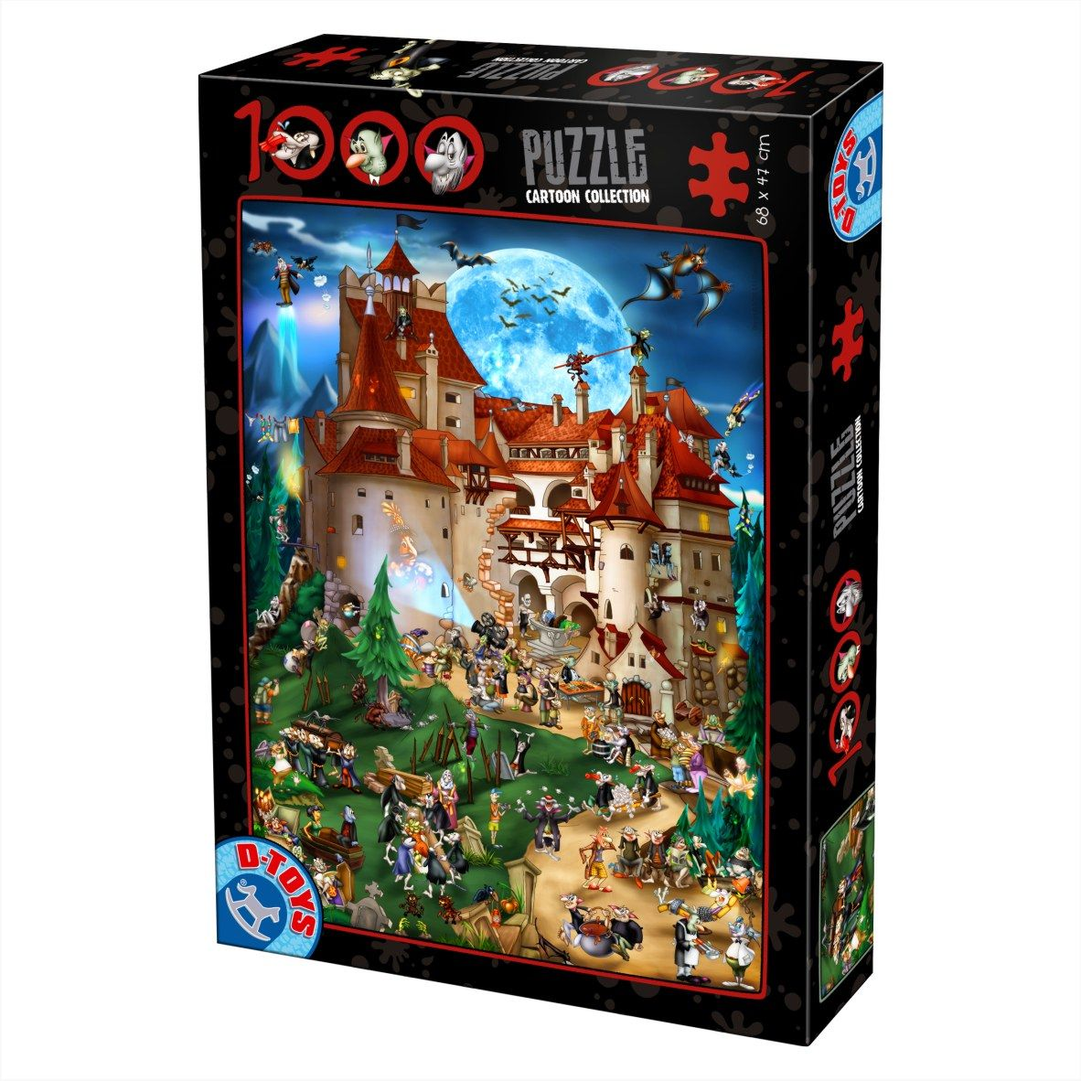 Puzzle 1000 piese Dracula
