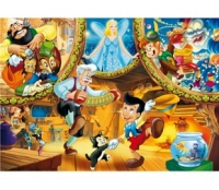 Puzzle 104 piese Pinocchio