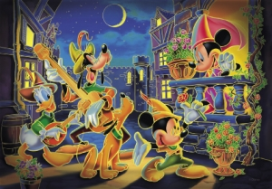 PUZZLE 250 PIESE FLUORESCENT MICKEY