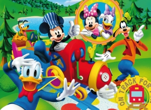 PUZZLE 2X60 PIESE MICKEY MOUSE